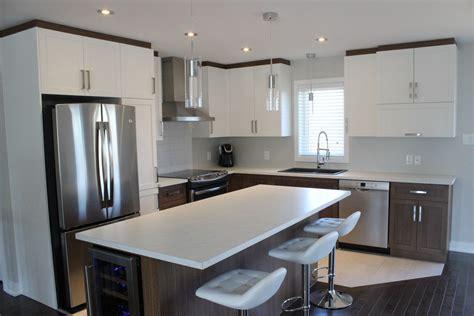 armoires de cuisine en polyester et mélamine cuisines despro
