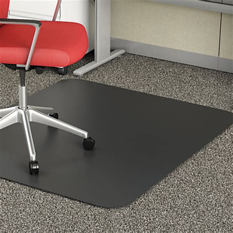 deflect o chair mat for medium pile carpet 36 w x 48 d