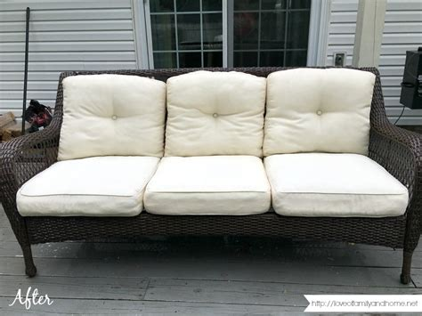 how to remove mildew stains from outdoor cushions
