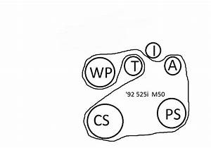 M50 Belt Routing Diagram - Bmw Forum