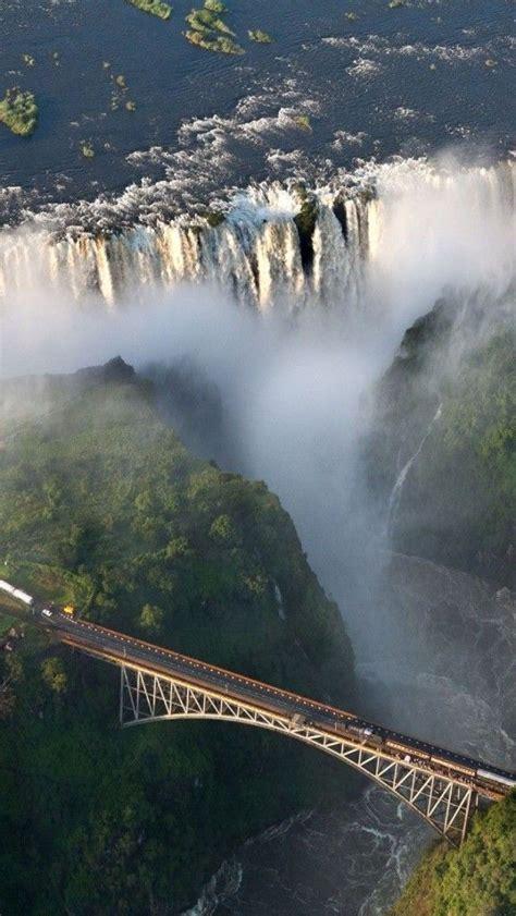 Impressive Waterfalls Around The World Railways