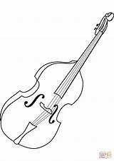 Coloring Cello Violoncello Colorare Colorear Ausmalbilder Dibujos Instrument Ausmalbild Instruments Zum Instrumente Wiolonczela Musical Violonchelo Dibujo Drawing Oboe Disegno Template sketch template