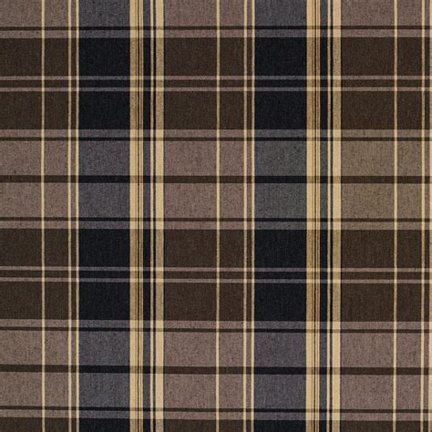 plaid upholstery fabric e807 brown and navy classic plaid jacquard upholstery fabric