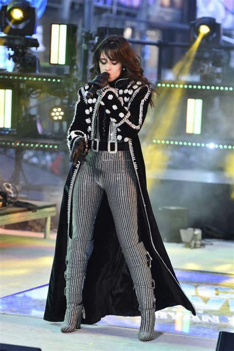 Camila Cabello Attends Dick Clark New Year Rockin Eve