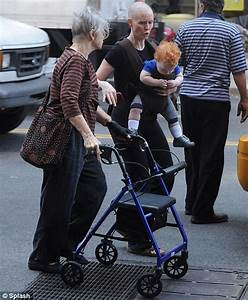 Cynthia Nixon shows off her cute baby son with his shock ...