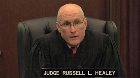 judge russell healey sends man  jail   job