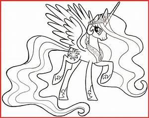 Ausmalbilder My Little Pony Prinzessin Celestia Rooms