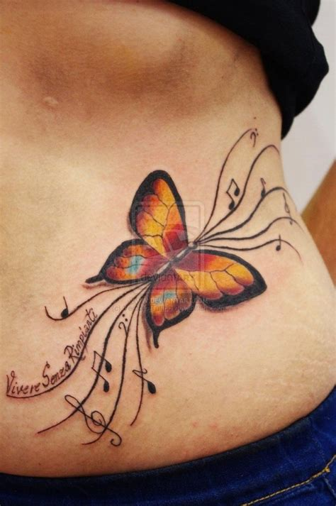 love  butterfly  note tattoo tattoo designs   pinterest note butterfly