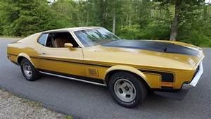72 Ford Mustang Sportsroof Fastback with MACh 1 stripes for sale - Ford Mustang 1972 for sale in ...