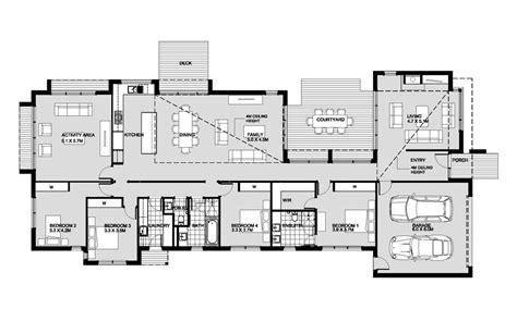 Modern Style House Plan 4 Beds 2 5 Baths 2875 Sq/Ft Plan