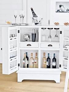 Wohnzimmer Mit Bar : 15 ideen endlich ordnung im wohnzimmer ~ Michelbontemps.com Haus und Dekorationen