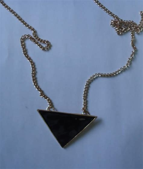 Triangle Necklace Ring From Estarer New Love  Ee  Makeup Ee