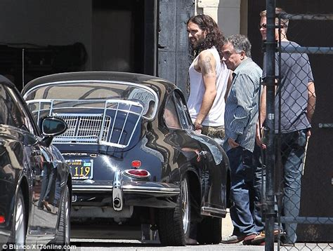 russell brand car russell brand shops for an expensive vintage car in his