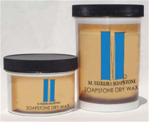 M Teixeira Soapstone by New Soapstone Wax Conditioner