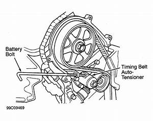 2000 Honda Accord Serpentine Belt Routing And Timing Belt Diagrams
