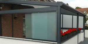 Glas fur terrassendach for Seitenwände für terrassenüberdachung