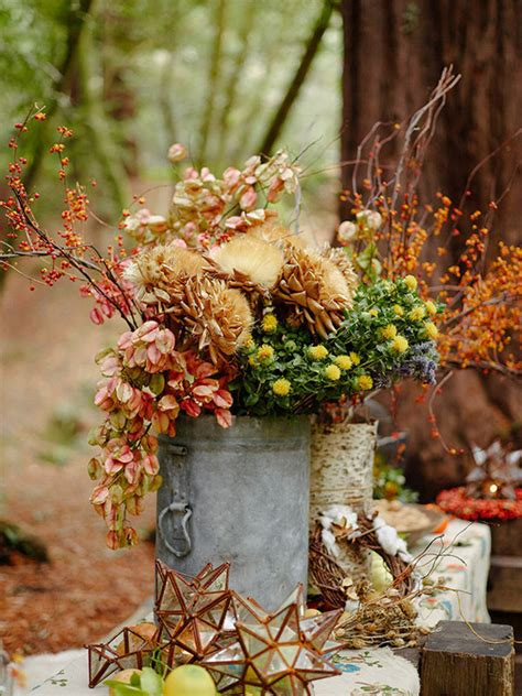 Rustic fall kids party in the Redwoods Holidays