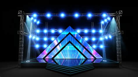 corporate stage design  umair iftikhar  coroflotcom