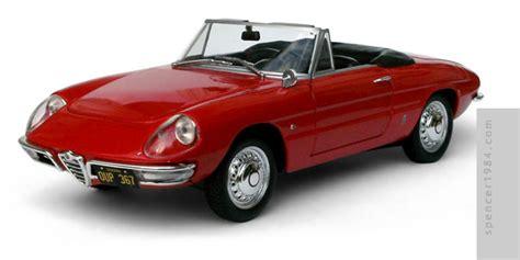 The Graduate Alfa Romeo Spider 1600