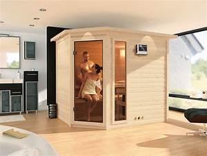 Sauna Gegen Erkältung : karibu saunen g nstig online kaufen bei gamoni karibu 40 mm massiv sauna tanami ~ Frokenaadalensverden.com Haus und Dekorationen