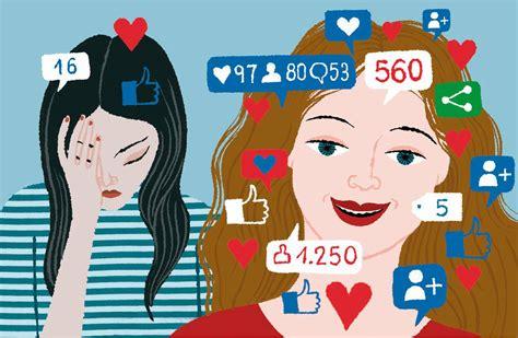 social media affecting   esteem  bite