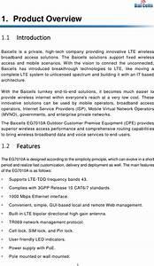 Baicells Technologies Eg7010a Lte