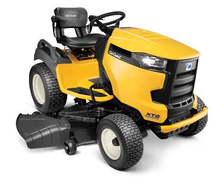 cub cadet xt xt lawn garden tractor review