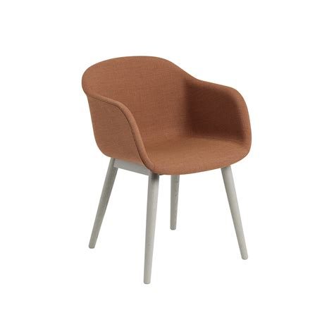 chaise muuto muuto fiber chair wooden base