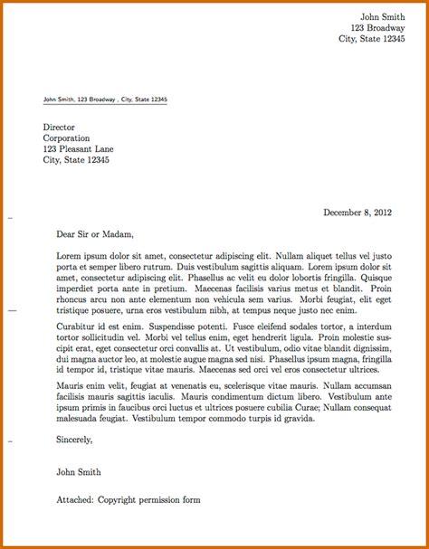 informal letter format 5 informal letter format 2016 lease template 67770