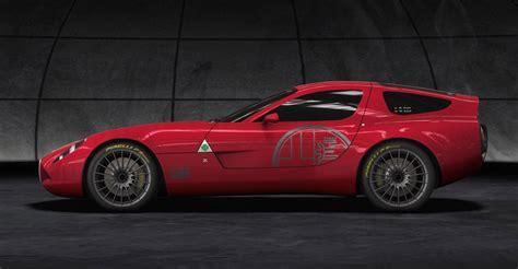 Alfa Romeo Viper : First Photos Of Dodge Viper Based Alfa Romeo Zagato Tz3