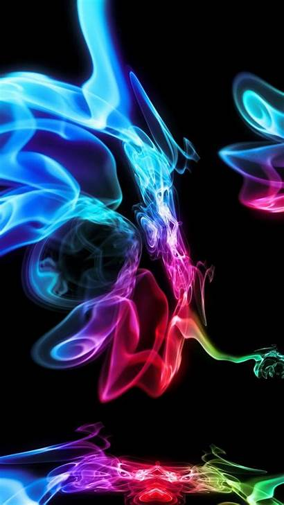 Multicolor Background Abstract Wallpapers Smoke Iphone Paint