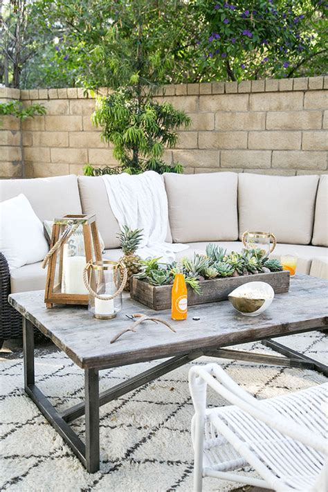 Easy Ideas To Freshen Up Your Outdoor Living Space