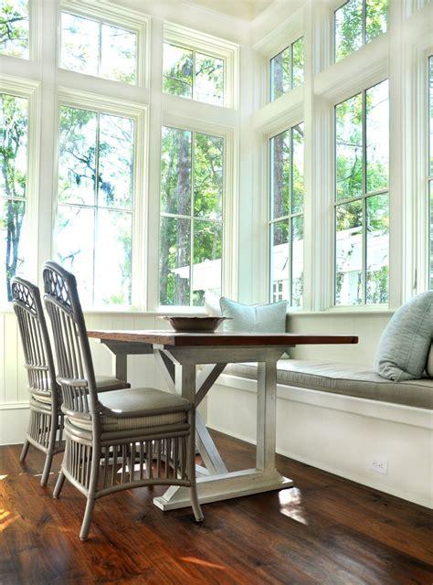 eat  kitchen bench seat full windows dining room