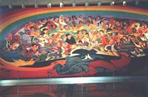 Denver Airport Murals Painted by Whistleblower Confirms Secret Underground Base Beneath
