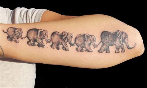 Elefant Tattoo Gibt Ihnen Kraft