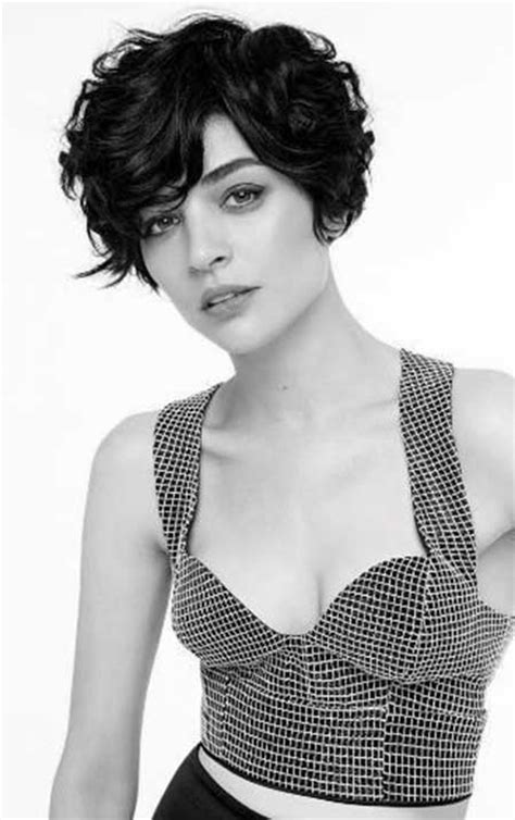 wavy short hairstyles  women short hairstyles