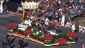 List of winning floats at 2015 Rose Parade   abc7.com