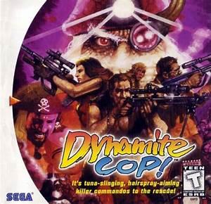 Dynamite Cop Dreamcast Game