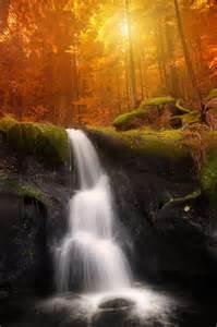 Gorgeous Autumn Waterfall