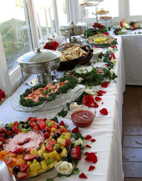 A View Of Finger Foods We Catered At A Wedding In Abingdon