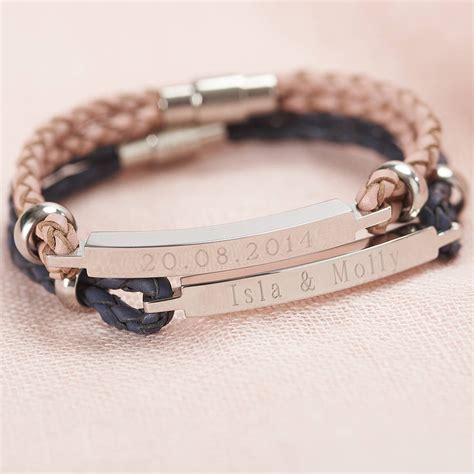 Personalised Women's Leather Identity Bracelet By Suzy Q. Silver Band Ring. Blind Watches. Tank Watches. Thin Diamond Bangle. Kundan Gold Jewellery. Snake Chain Silver. Cinderella Engagement Rings. Mens Lacoste Watches