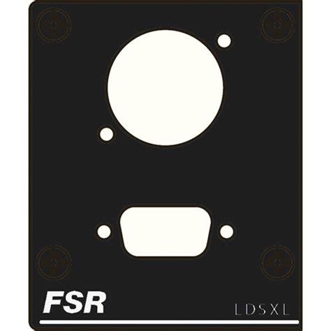 fsr floor box inserts fsr t3u 2 left insert t3u 2 ldsxl b h photo