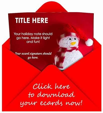 Ecard Holiday Templates Customers Gift Customize Ecards