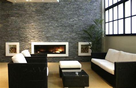 tiled living room 132405 blue black slate cladding panel brick slip 10460