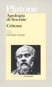 apologia di socrate testo greco apologia di socrate 173 critone testo greco a fronte libro