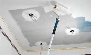 Decke Mit Rollputz Streichen : bad umbau decke aus zementbauplatten umbau sanierung ~ Michelbontemps.com Haus und Dekorationen