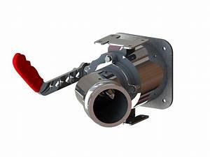 54800 Stainless Steel 3 U2033 Q D  45 U00b0 Side Angle Left Hand
