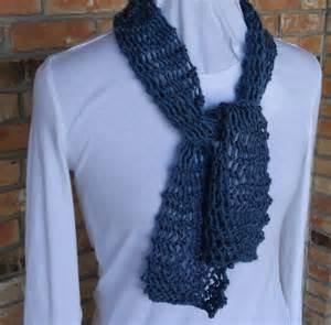Easy Knit Lace Scarf Pattern