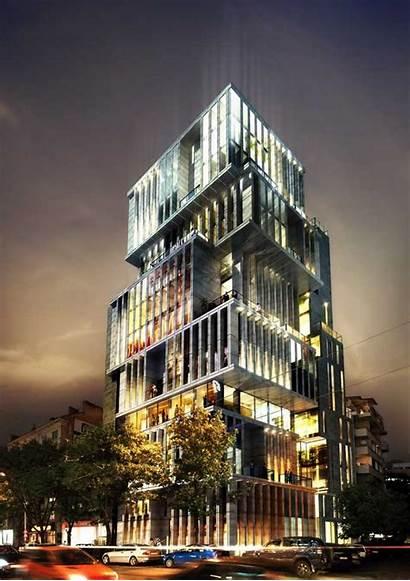 Sofia Building Architecture Office Bulgaria Tower Studio