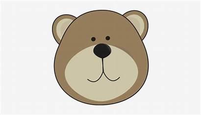 Bear Face Clipart Clip Teddy Head Grizzly